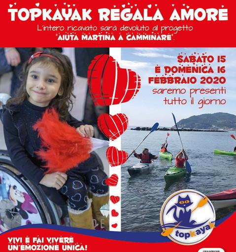 San Bartolomeo al Mare: nel prossimo weekend una raccolta di 'TopKayak' per la piccola Martina