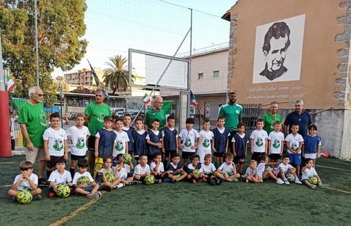 Calcio giovanile: grande successo di partecipanti sabato al raduno della Polisportiva Salesiana Vallecrosia (Foto)