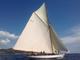 Tre giovani allievi della Sta-Italia alle navigazioni didattiche a vela durante le 'Vele d'Epoca' di Imperia
