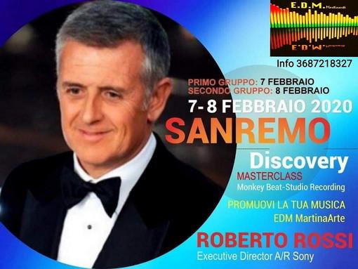 Una vetrina discografica per Artisti emergenti al 'Sanremo Discovery 2019'