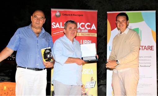 Riva Ligure: successo di pubblico anche ieri per Stefano 'Vito' Bicocchi alla rassegna 'Sale in Zucca' (Foto e Video)