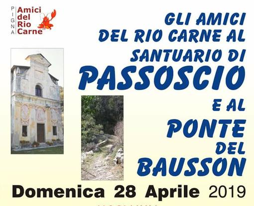 Pigna: domenica prossima l'escursione al Santuario della Madonna di Passoscio con gli 'Amici del Rio Carne'