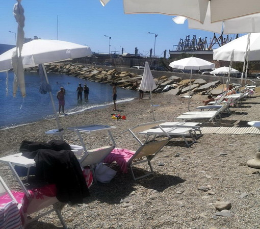 Sanremo: campioni nuovamente non conformi a San Martino, rimane il divieto di balneazione alla spiaggia dell'Antenna