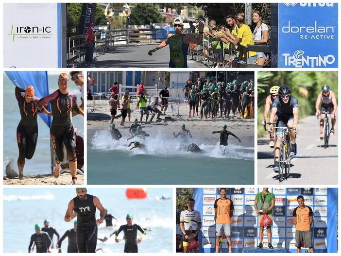 Sanremo: oltre 1.700 partecipanti all'Olympic Triathlon, ieri il grande spettacolo tra mare e strade (Foto)