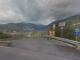 L'imbocco della strada Castellaro/Taggia