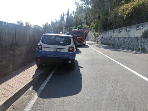 Ventimiglia: principio d'incendio su un treno nella zona delle Calandre, nessun ferito ma traffico bloccato