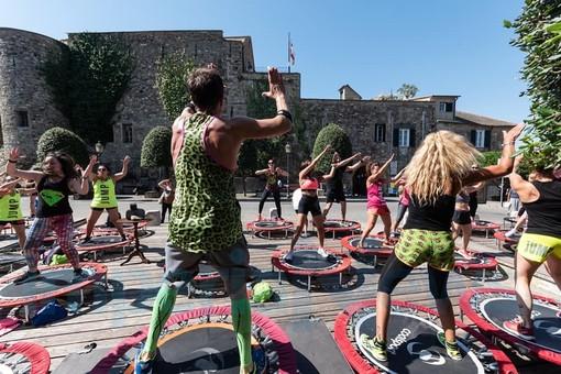 Cervo: grande successo ieri sul palco di piazza del Castello per l'evento sportivo 'Super Jump' (Foto)