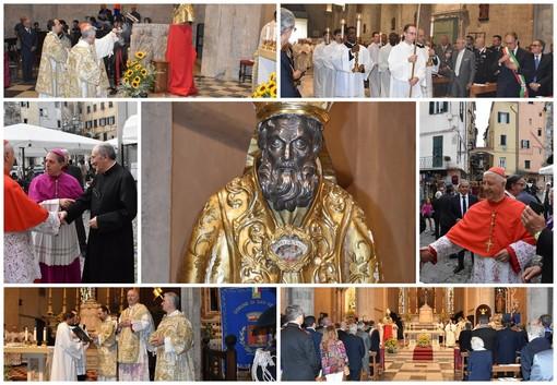 Sanremo: questa mattina il momento religioso di 'San Romolo', Messa officiata dal Cardinale Giuseppe Versaldi (Foto e Video)