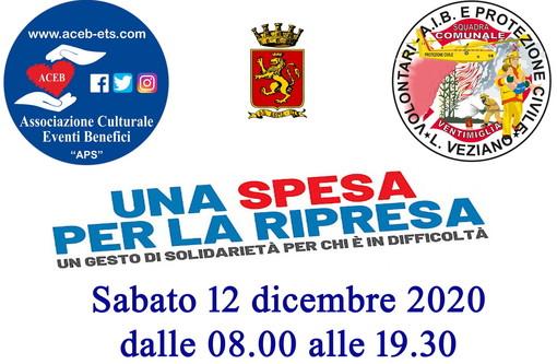 Ventimiglia: con l'Aceb di Camporosso e la Protezione Civile sabato c'è 'Una spesa per la ripresa'