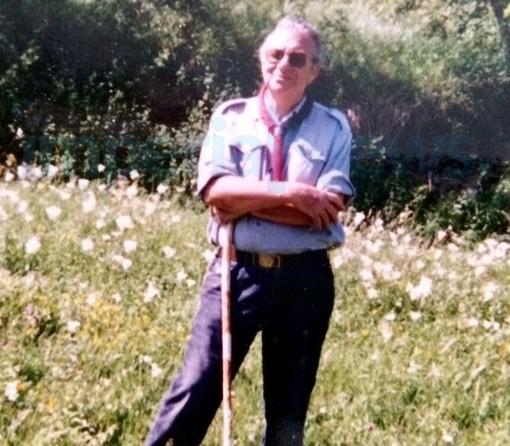 Imperia: è morto stamattina all'età di 87 anni Angelo Giribaldi, per una vita è stato scout nel capoluogo