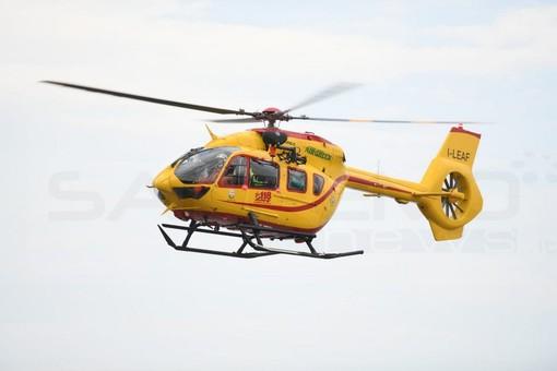 Bordighera: si sente male e cade, anziano soccorso con l'elicottero 'Grifo'