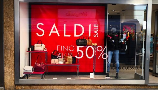 """Sanremo: saldi in calo del 30/40% rispetto al 2019, Fontanelli """"Servono decisioni su on line, outlet e saldi in contemporanea alla Francia"""""""