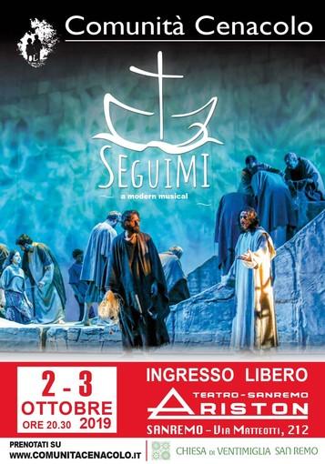 Sanremo: la Comunità Cenacolo di Saluzzo in scena all'Ariston per aiutare i giovani dipendenti da droghe, alcool e gioco