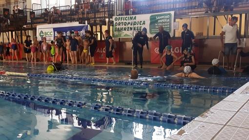 Bordighera: grande successo per Subacquabili, manifestazione organizzata dalla Polisportiva Integrabili alla piscina comunale Biancheri (Foto)