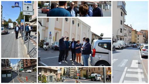 Sanremo: sopralluogo del vice Sindaco a San Martino con i commercianti, chiesti parcheggi per i clienti
