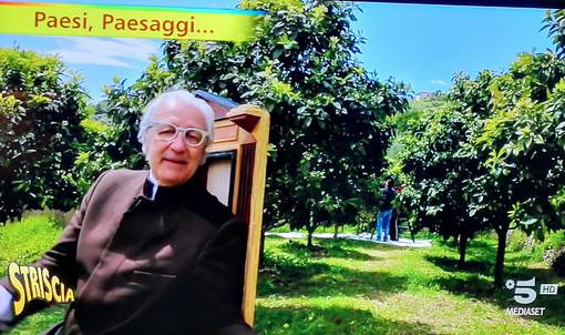 Vallebona e la produzione di Pietro Guglielmi esaltati ieri da Davide Rampello su 'Striscia la Notizia' (Foto)