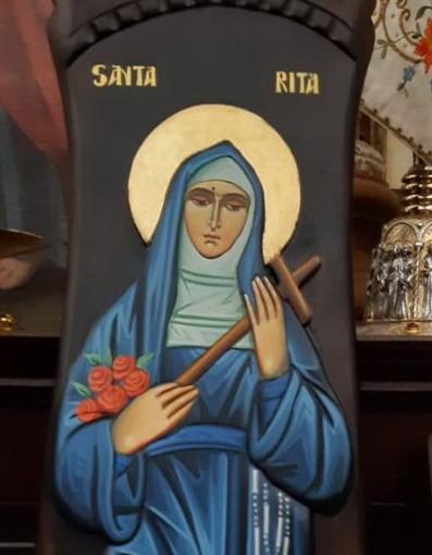Sanremo: una icona di Santa Rita da domenica prossima alla Chiesa di Tutti i Santi in corso Matuzia