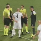 Calcio: clamoroso al 'Comunale', la Lavagnese vince 1-0 con la Sanremese punita da un rigore dubbio