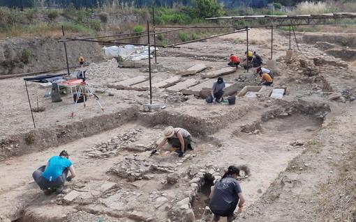 Ventimiglia: ripresi in anticipo gli scavi nella area della città romana di Albintimilium (Foto)