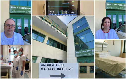 Coronavirus: a 15 mesi dall'inizio del Covid siamo entrati alle malattie infettive del 'Giannoni' di Sanremo (Foto e Video)