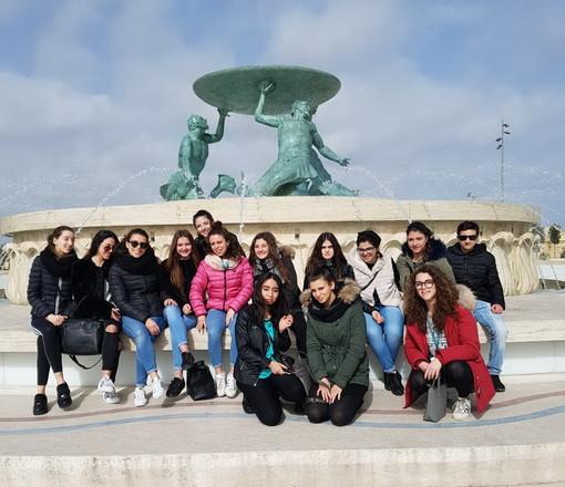 Soggiorno scuola-lavoro a Malta per gli studenti dell'Istituto per il Turismo di Sanremo