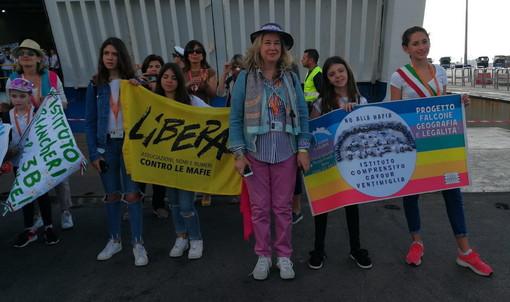 Palermo: gli studenti ventimigliesi vincitori di 'Angeli custodi' oggi in Sicilia per la manifestazione contro le mafie