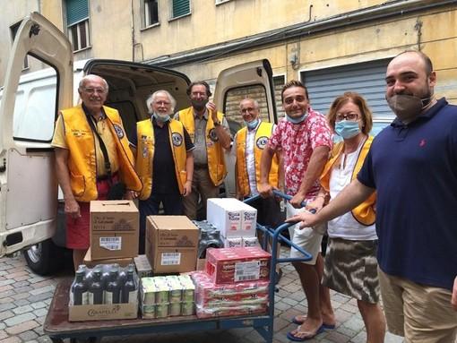 Il Lions Club Sanremo Host, per la seconda volta ritorna a fare la 'Spesa Solidale' per aiutare le famiglie che si rivolgono ai Frati della Mercede, all'Emporio Solidale e ai Cappuccini
