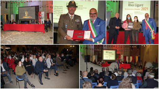 Riva Ligure assegna la cittadinanza onoraria al Milite Ignoto, premia il fairplay di Mattia Agnese e la resilienza delle tenniste Pessina e Oliveri (Foto e videoservizio)