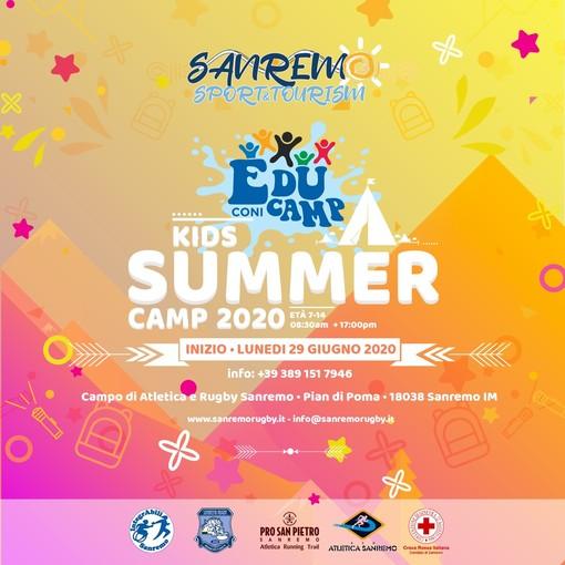 Sanremo: a Pian di Poma prende il via 'Summer Camp 2020' per ragazzi dagli 8 ai18 anni