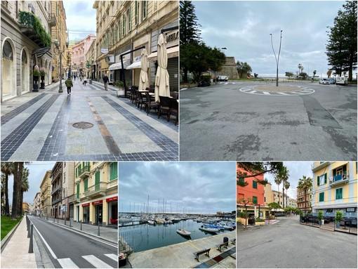 Sanremo deserta il 12 marzo 2020