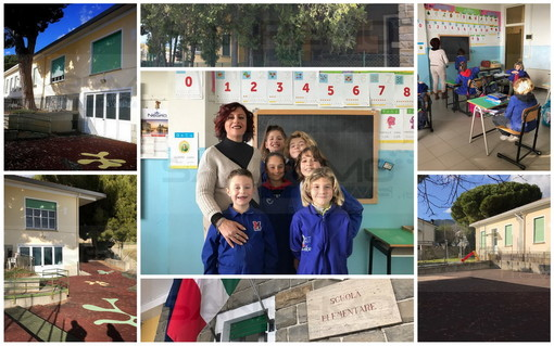 """Sanremo: a San Lorenzo solo 6 alunni alle Elementari, ma è un'oasi di pace e studio """"E i bambini sono felici"""" (Foto e Video)"""