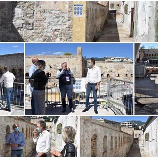 Sanremo: Santa Tecla apre il cantiere del secondo lotto ai cittadini, ecco i luoghi oggetto dei lavori (Foto e Video)