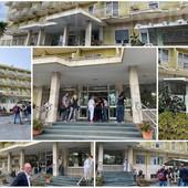 Sanremo: in corso a 'Casa Serena' i colloqui tra i sindacati e la nuova proprietà per il futuro lavorativo dei dipendenti (Foto)