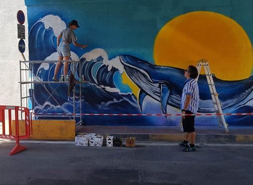 VallecrosiArt: al via il progetto di riqualificazione urbana con i murales di SteReal e KayOne (Foto)