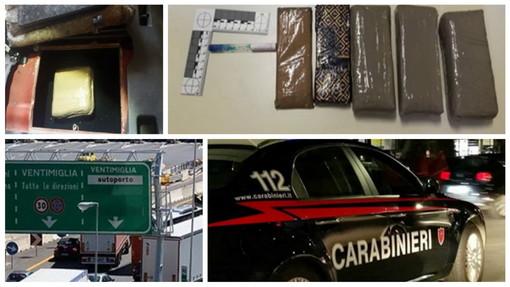 Ventimiglia: 45enne spagnolo guidata un'auto modificata per portare la droga in Italia, arrestato dai Carabinieri
