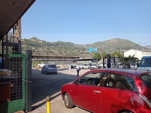 Coronavirus: iniziati i tamponi in 'drive trought', Asl e Protezione Civile in via Tenda (Foto)