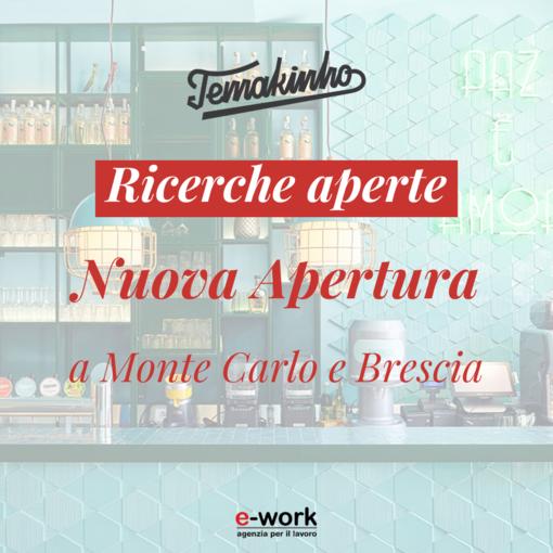 Nuovo ristorante di Montecarlo ricerca 15 figure professionali, le selezioni anche a Ventimiglia