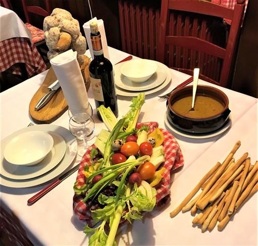 A Cavoretto (TO) per passare una serata in allegria e gustando un'ottima cucina della tradizione