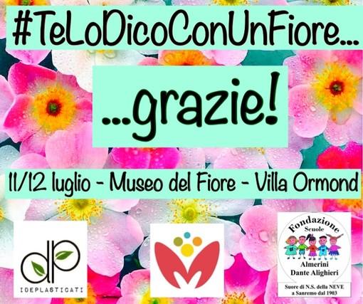 Sanremo: sabato e domenica prossimi a Villa Ormond allestimento dei 'fiori di plastica' realizzati durante il lock down