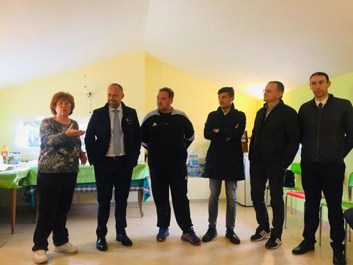 Elezioni Sanremo: visita al Pluto's Residence per il candidato sindaco Sergio Tommasini