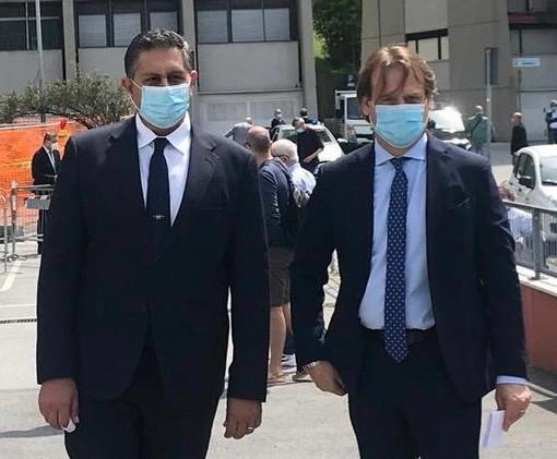 Il Presidente Giovanni Toti e l'Assessore Marco Scajola hanno inaugurato oggi il Begato Project