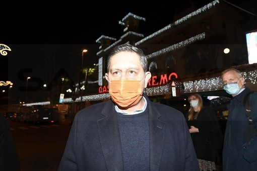 Sanremo: il presidente della Regione in hotel al 'Nazionale' prima della premiazione all'Ariston (Foto)