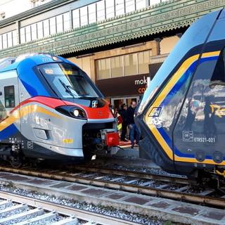 Trasporti: da oggi in circolazione anche nel Ponente ligure i due nuovi treni 'Rock' e 'Pop'