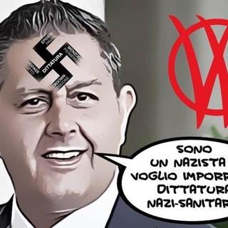 """Insulti e minacce al Presidente Toti per il 'Green pass': """"Il no al vaccino rischia di compromettere la libertà di tutti"""""""