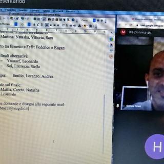 Per la Didattica a Distanza (DAD), incontro con l'autore Stefano Tofani all'IC Sanremo Centro Levante