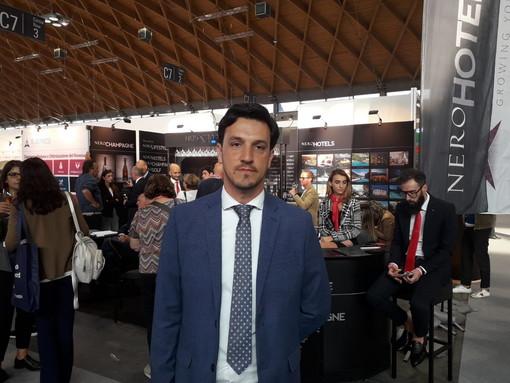 """Anche il direttore del 'Miramare Palace' di Sanremo al Ttg di Rimini: """"Ottime prospettive per il futuro"""" (Video)"""