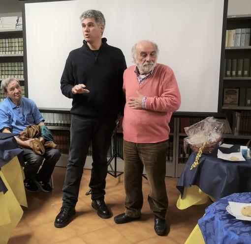 San Bartolomeo al Mare: 'Il passo della morte' e i confini della mente ieri a 'Il tea con l'autore'