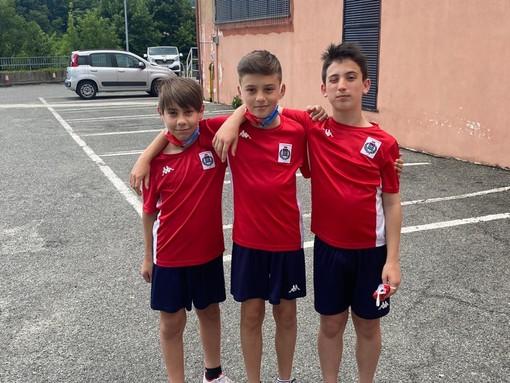 Tre giovani calciatori del Dolceacqua Calcio in prova al Genoa: la soddisfazione della società ponentina