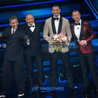 """""""La nostra amicizia è iniziata con una testata"""" Ibrahimović e Mihajlović si raccontano al 71° Festival di Sanremo"""