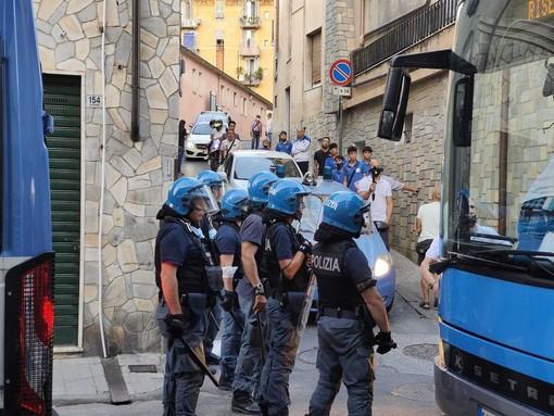 Daspo per due ultras matuziani dopo il derby Imperia-Sanremese di Coppa Italia